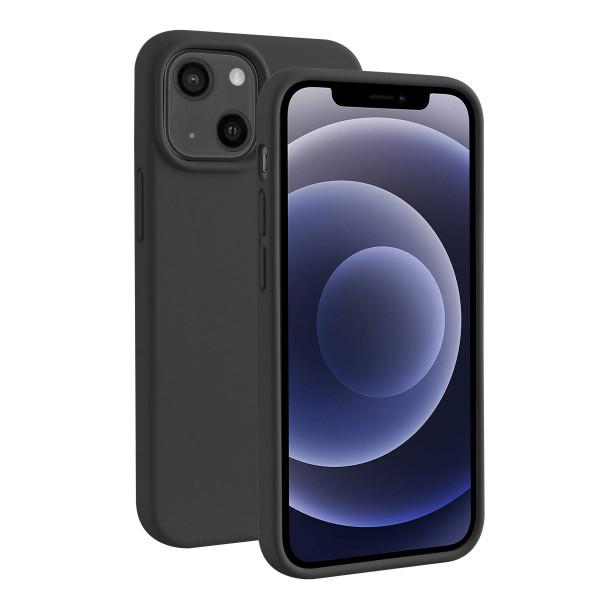 BeHello iPhone 13 mini Liquid Silicone Hoesje Zwart