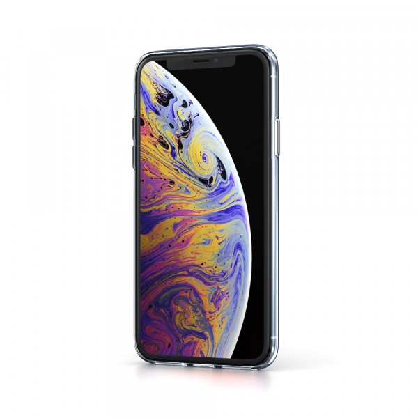 BeHello iPhone XS Max ThinGel Siliconen Hoesje Transparant