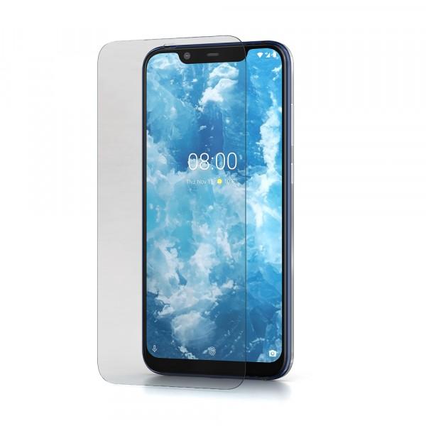 BeHello Nokia 8.1 Screenprotector Tempered Glass - High Impact Glass
