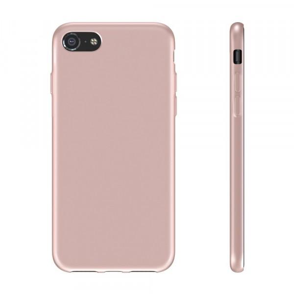 BeHello Premium iPhone 8 7 Siliconen Hoesje Roze