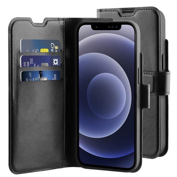 BeHello iPhone 13 mini Gel Wallet Hoesje Zwart