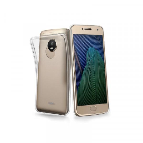 SBS Motorola Moto G 5G Plus Skinny Cover Case Transparent
