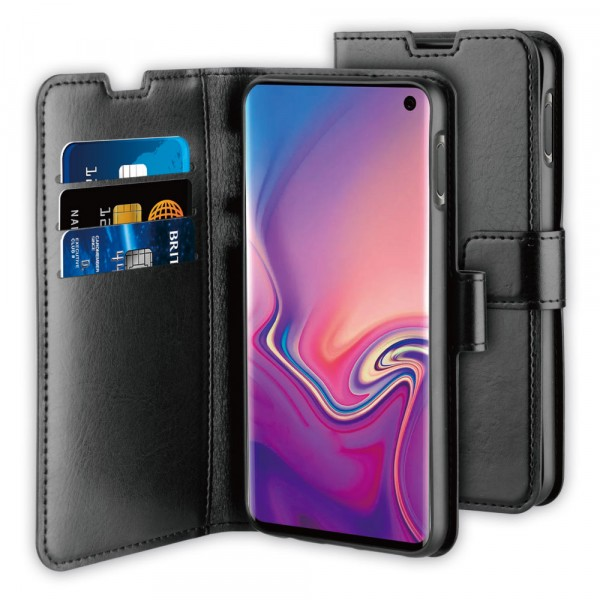BeHello Samsung Galaxy S10E Gel Wallet Case Black