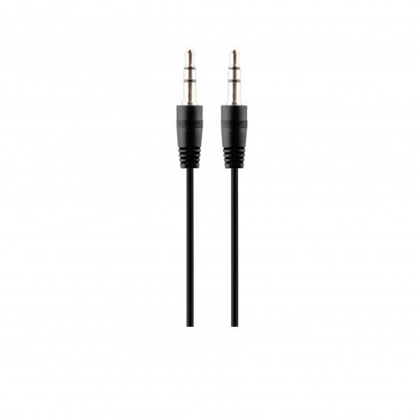 BeHello Aux Kabel - Audio Kabel 0.8m 3.5mm Zwart