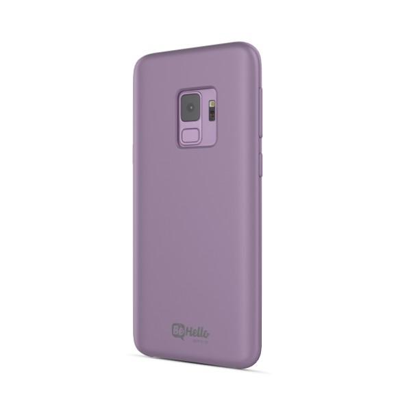 BeHello Samsung Galaxy S9 Siliconen Hoesje Paars