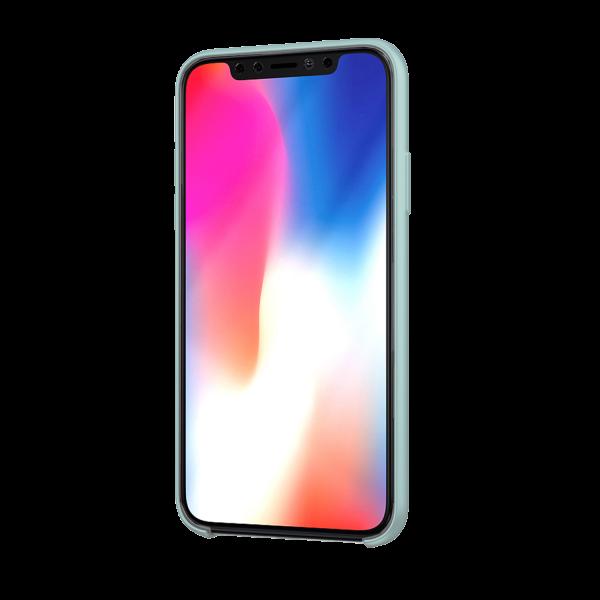 BeHello Premium iPhone 11 Pro Max Siliconen Hoesje Lichtblauw