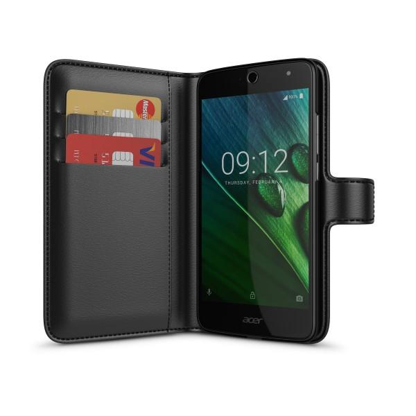 BeHello Acer Liquid Zest Wallet Case Black