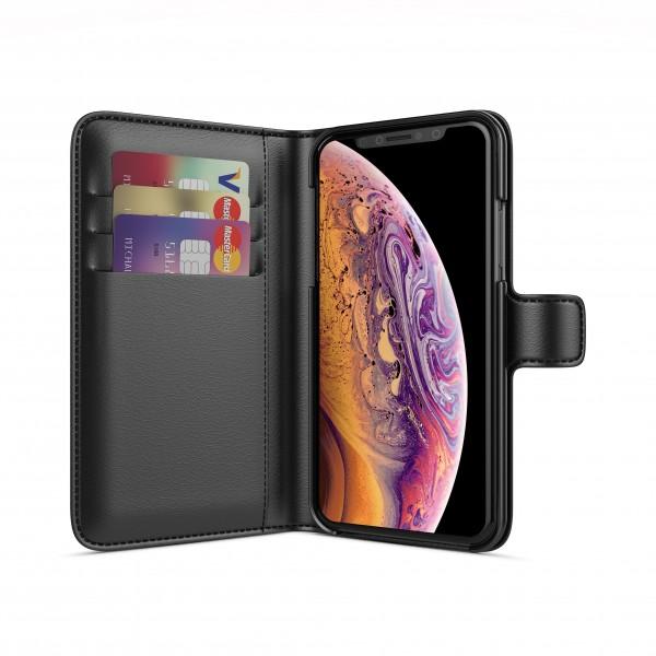 BeHello Wallet Case Zwart voor iPhone X Xs