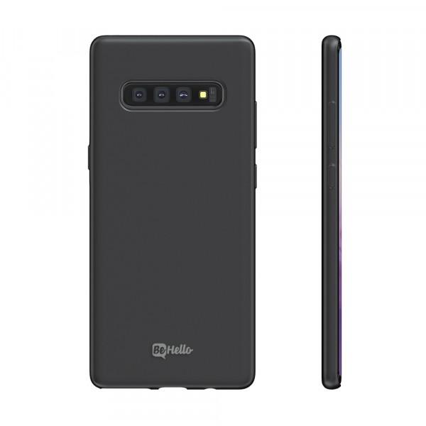 BeHello Premium Samsung Galaxy S10 Siliconen Hoesje Zwart