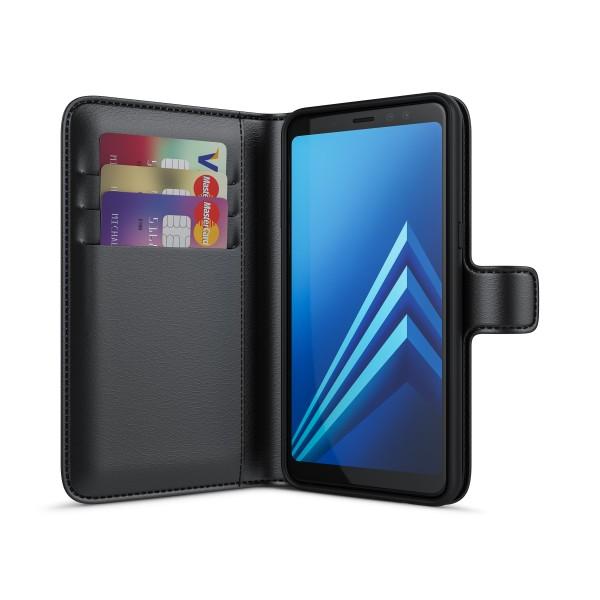 BeHello Wallet Case Zwart voor Samsung Galaxy A8 (2018)
