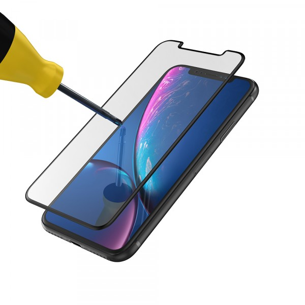 BeHello iPhone XR en iPhone 11 Screenprotector Tempered Glass - High Impact Glass