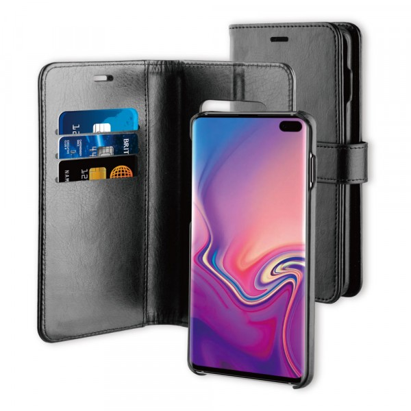 BeHello Samsung Galaxy S10+ 2-in-1 Wallet Case Black