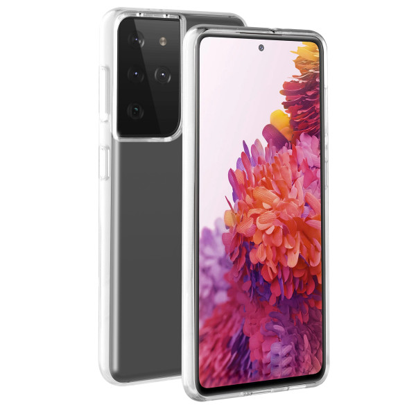 BeHello Samsung Galaxy S21 Ultra ThinGel Hoesje - Transparent