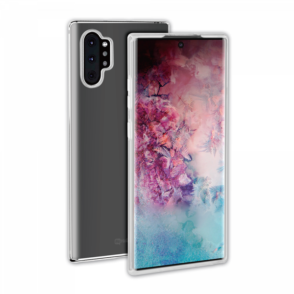 BeHello Samsung Galaxy Note 10+ ThinGel Siliconen Hoesje Transparant