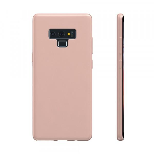 BeHello Premium Liquid Silicon Case Roze voor Samsung Galaxy Note 9