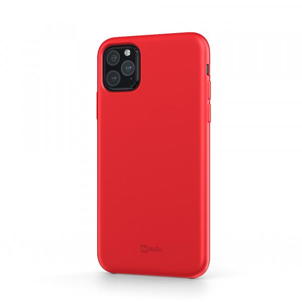 BeHello iPhone 11 Pro Max Siliconen Hoesje Rood