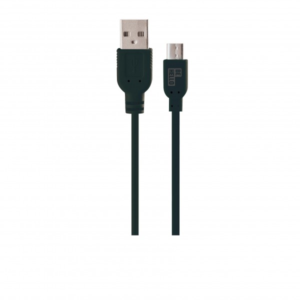 BeHello Charge and Sync Cable - Micro USB (1.2m) Black