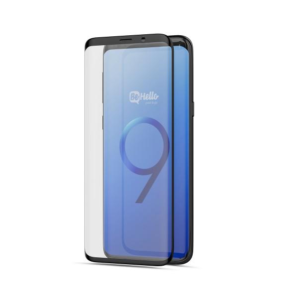 BeHello Screenprotector High Impact Glass voor Samsung Galaxy S9+