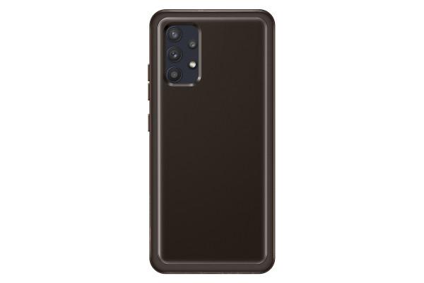 Samsung A32 LTE Soft Clear Cover Case Black