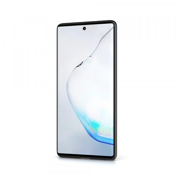 BeHello Premium Samsung Galaxy Note10 Liquid Silicone Case Black