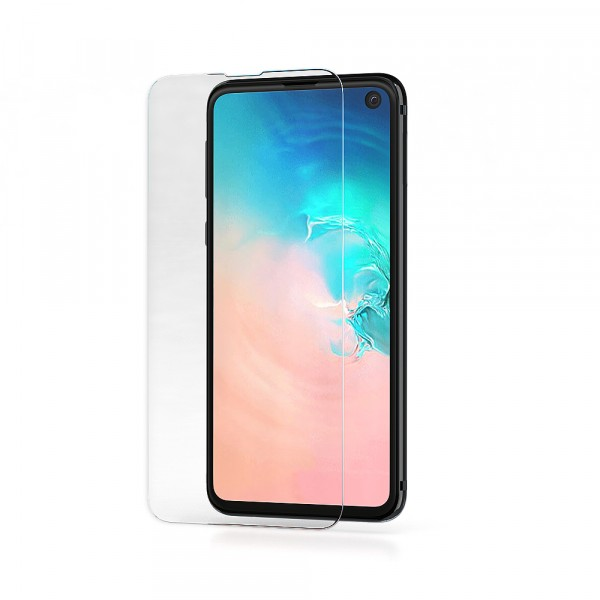 BeHello Samsung Galaxy S10E Screenprotector Tempered Glass - High Impact Glass