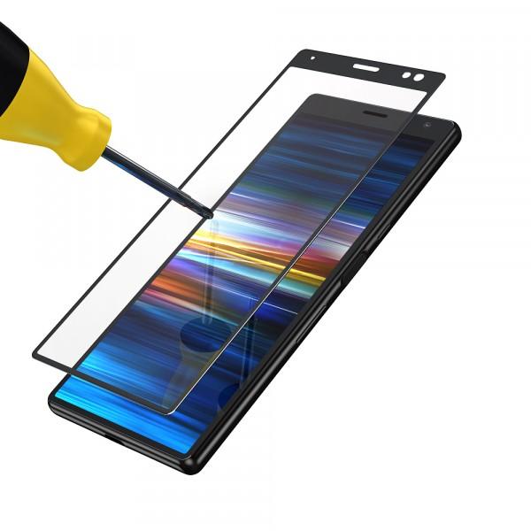 BeHello Sony Xperia 10 Screenprotector Tempered Glass - High Impact Glass