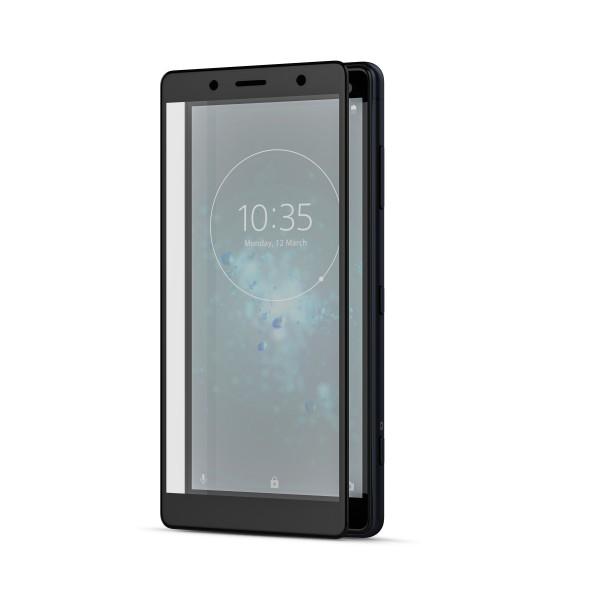BeHello Sony Xperia XZ2 Compact Screenprotector Tempered Glass - High Impact Glass