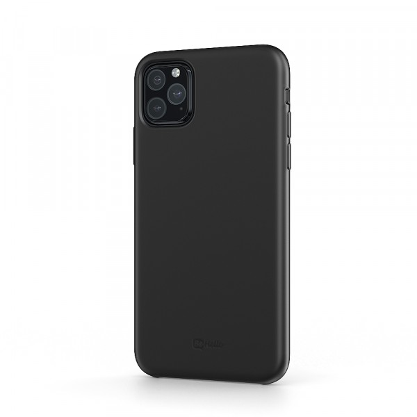 BeHello iPhone 11 Pro Max Liquid Silicone Case Black