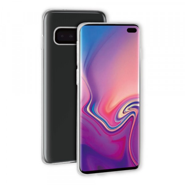 BeHello Samsung Galaxy S10+ ThinGel Case Clear Transparent