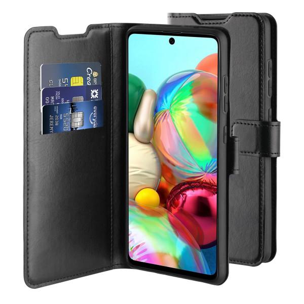 BeHello Samsung Galaxy A72 Gel Wallet Hoesje - Zwart