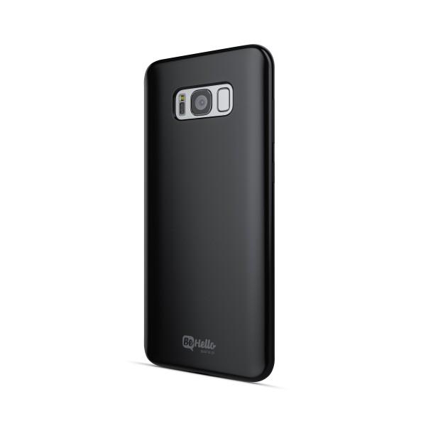 BeHello ThinGel Back Case Zwart voor Samsung Galaxy S8+