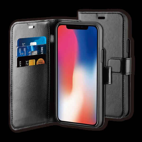 BeHello iPhone 11 Hoesje - Gel Wallet Case Met Ruimte Voor 3 Pasjes Zwart