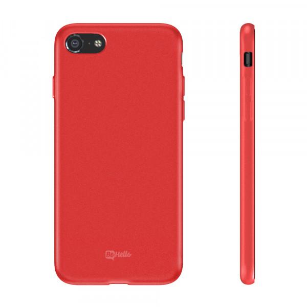 BeHello Premium iPhone 8/7 Siliconen Hoesje Rood