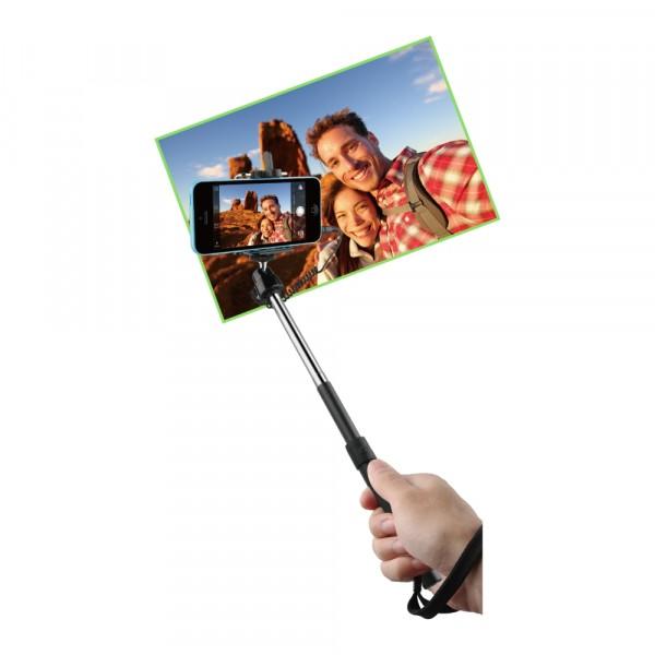 BeHello Selfie Stick Wired Black