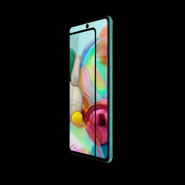 BeHello Samsung Galaxy A72 Screenprotector - Antibacterieel High Impact Gehard Glas