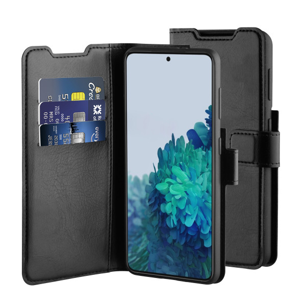 BeHello Samsung Galaxy S21 Gel Wallet Case Black