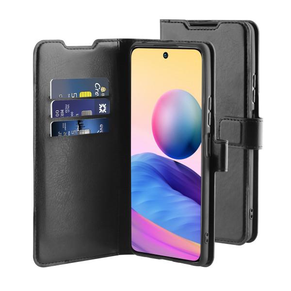 BeHello Xiaomi Redmi Note 10 Gel Wallet Case Black