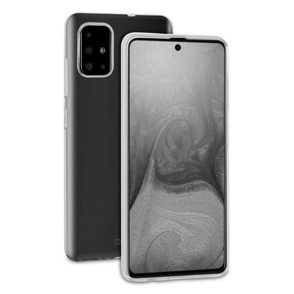 BeHello Samsung Galaxy A71 ThinGel Siliconen Hoesje - Transparant