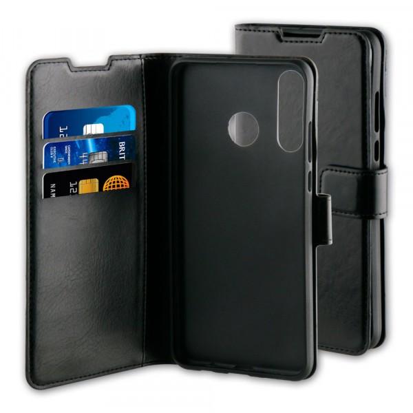 BeHello Huawei P30 Lite Gel Wallet Case Zwart