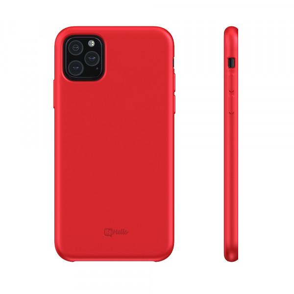 BeHello iPhone 11 Pro Max Liquid Siliconen Hoesje - Rood