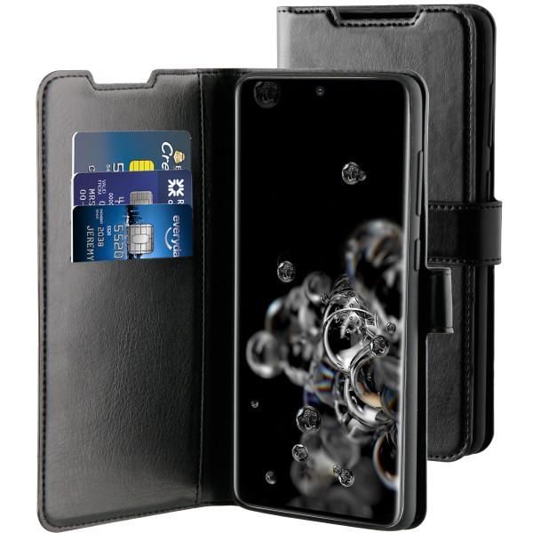 BeHello Samsung Galaxy S20 Ultra Gel Wallet Hoesje - Zwart