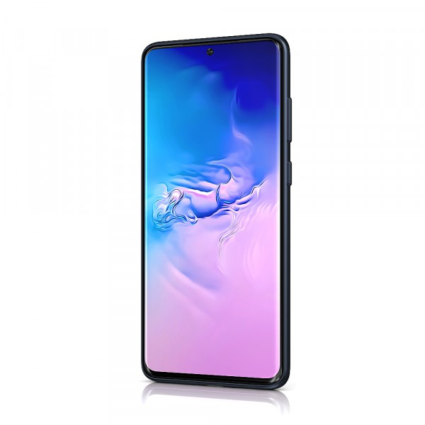BeHello Samsung Galaxy S20 Siliconen Hoesje Donker Blauw
