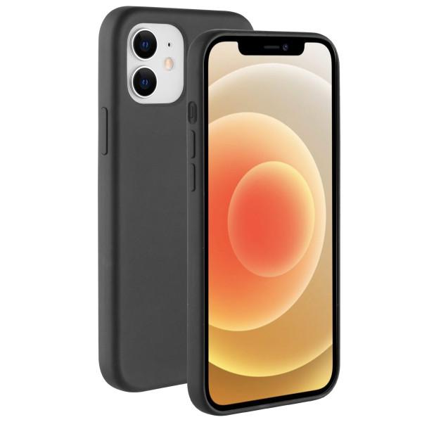 BeHello iPhone 12 mini Liquid Silicone Case Zwart