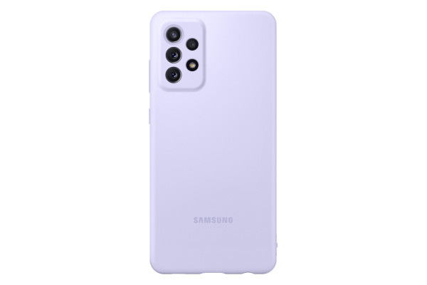Samsung A72 Silicone Cover Case Violet