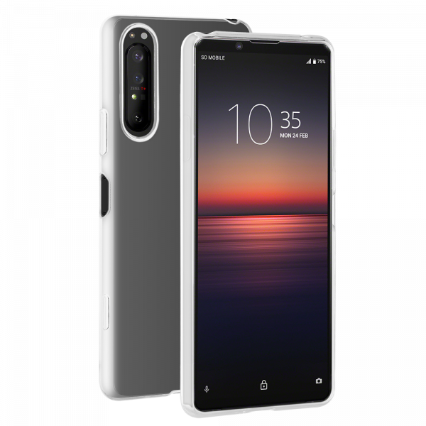 BeHello Sony Xperia 1 II ThinGel Siliconen Hoesje Transparent