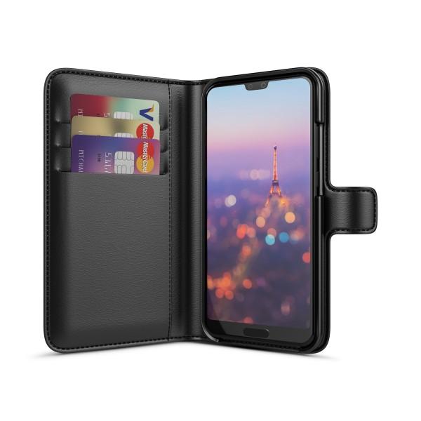BeHello Huawei P20 Wallet Case Zwart