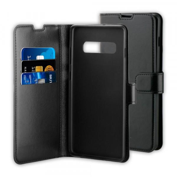 BeHello Samsung Galaxy S10 Hoesje - Gel Wallet Case Met Ruimte Voor 3 Pasjes Zwart