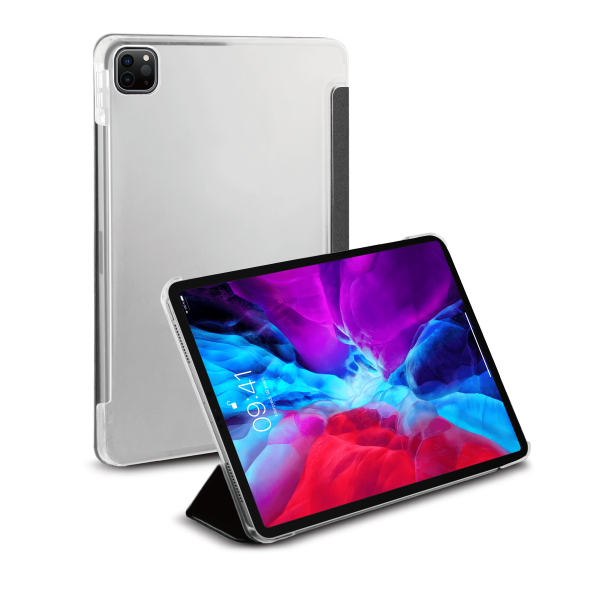 BeHello iPad Pro 12.9 (2020) Tablet Hoes met Smart Cover Zwart