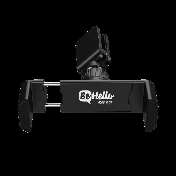 BeHello Universele Telefoonhouder - Mini Autohouder - Ventilatierooster - Zwart