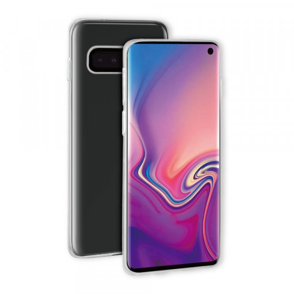 BeHello Samsung Galaxy S10 ThinGel Siliconen Hoesje Transparant